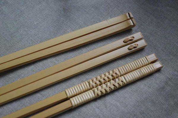 この道一筋の竹工芸作家がつくる菜箸「竹聲館 竹の菜箸」