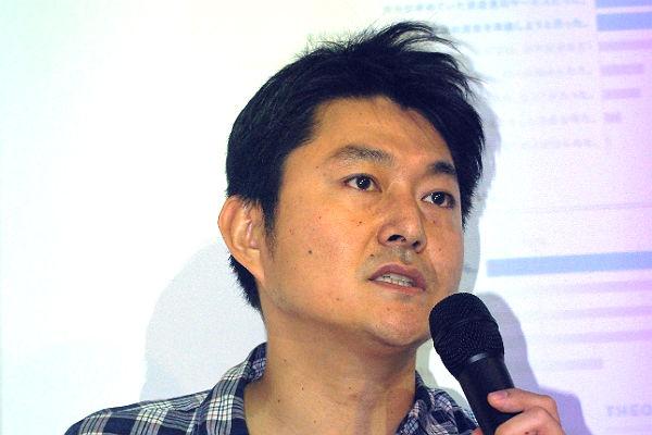 登壇した北澤COO(写真=筆者)