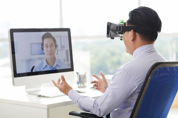 VR,ビデオ会議,リモートワーク