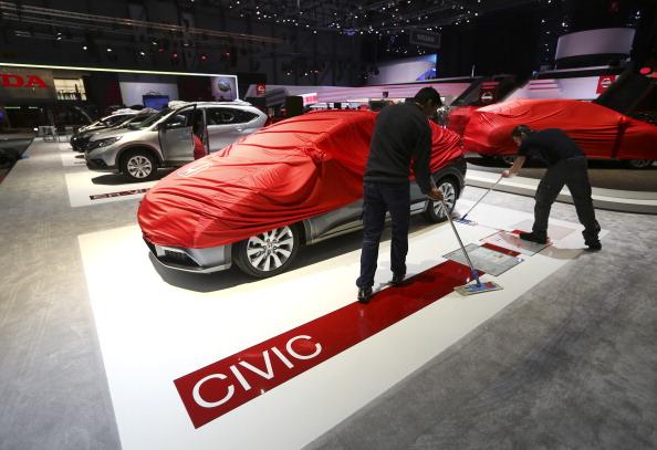 ホンダが欧州向けの新型シビック Type R をジュネーブモーターショーで公開のサムネイル画像