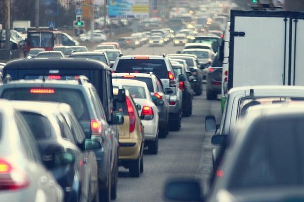 交通渋滞,車,人口増加
