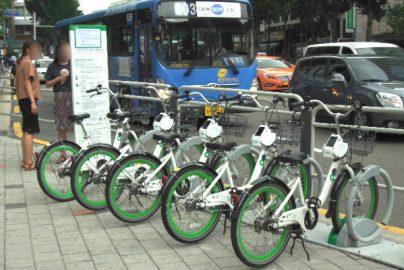 自転車が普及していない韓国・ソウルで公共シェアサイクル「タルンイ」は利用されるのかのサムネイル画像