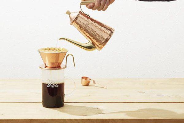 特選「燕三条」:燕製の美しいコーヒー器具「TSUBAME & Kalita」