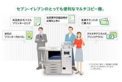 コンビニ「マルチコピー機」サービスが充実、家庭用インクジェットプリンタ出荷減も影響?のサムネイル画像