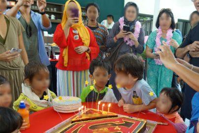 人気はバブルマン、親は数カ月前から準備 マレーシアの個性的で豪華な「誕生日会」のサムネイル画像