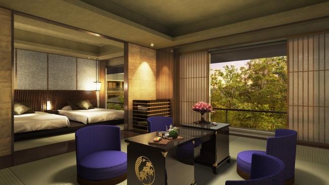「翠嵐ラグジュアリーコレクションホテル京都」がオープン、京都へ高級ホテル続々登場のサムネイル画像