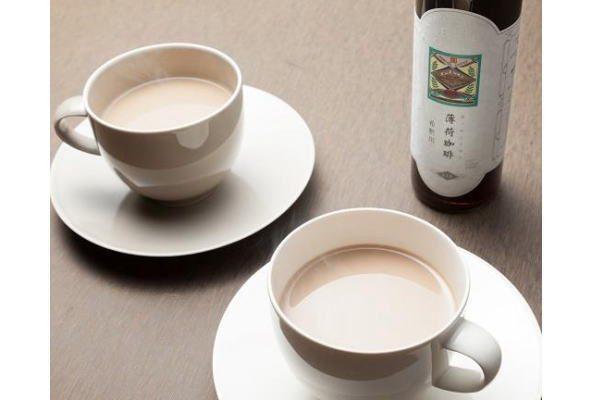 飲んだ後にはメントール感!? のどごしスッキリの不思議なカフェオレ「薄荷珈琲(ハッカコーヒー)」