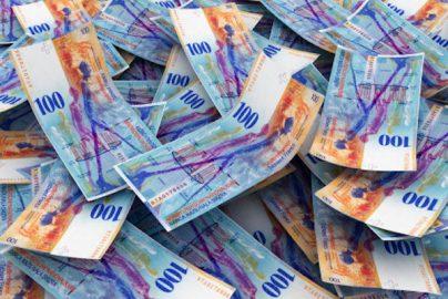 スイス国立銀行の株価が1年で2倍以上に急騰、高値の謎はユーロ高?のサムネイル画像