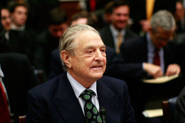 ジョージ・ソロス氏,民主主義,米大統領