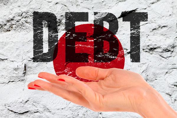 財政破綻,借金