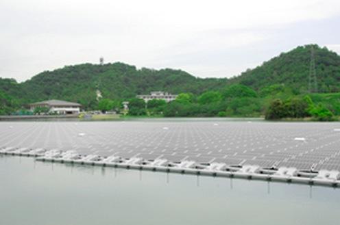 兵庫に世界最大の水上型メガソーラー、京セラなどのサムネイル画像