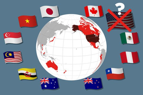 TPP議論、米国抜きの11カ国で継続へ