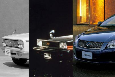 トヨタ「カローラ」50周年 11代目の現行モデルに至る開発、搭載技術とCMの歴史のサムネイル画像
