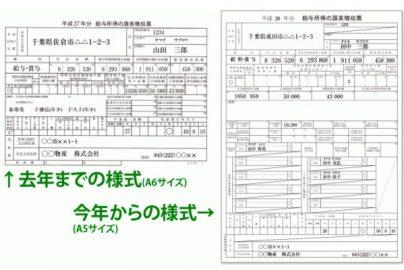 リニューアルされた源泉徴収票の見方、ご存じですか?のサムネイル画像